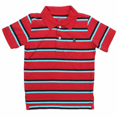 BABY GAP( Cut Label ) Yarn Dyed Red Polo