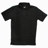 Foot Locker Boys Dark Grey Poly Cotton Pique Polo