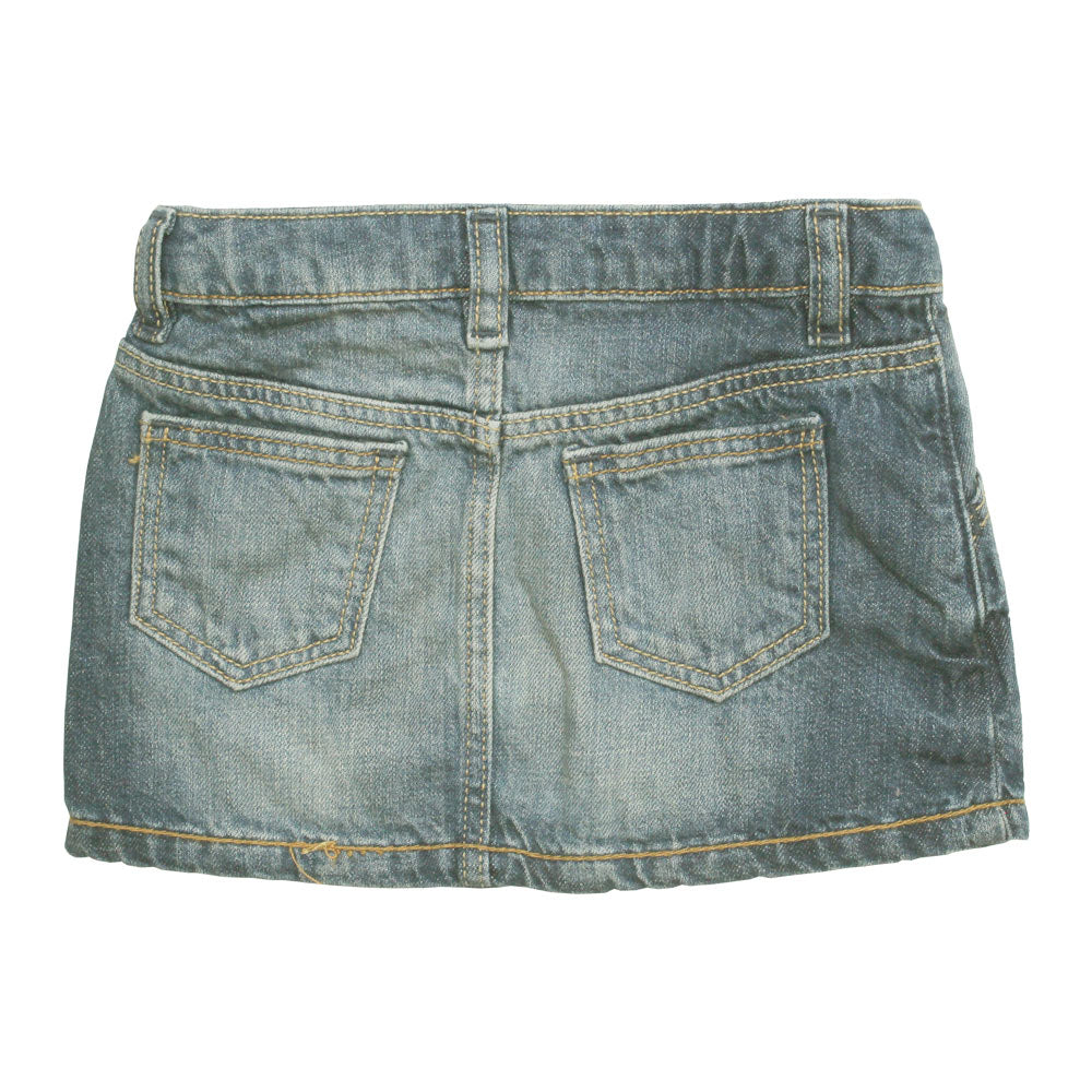 GAP KIDS basic Sand washed Denim Skirt