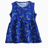 HNM butterfly blue Dress sleeveless