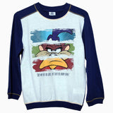Looney Tunes print boys full sleeves Sweat Shirt Print