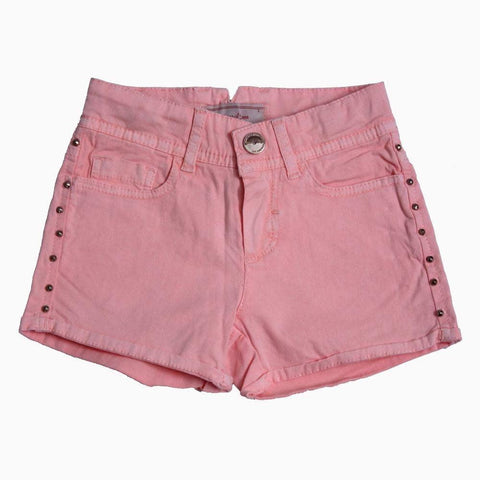 Mayoral Pink studded shorts