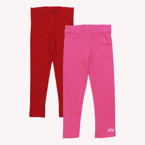ORCHESTRA Pink And Red Legging Set