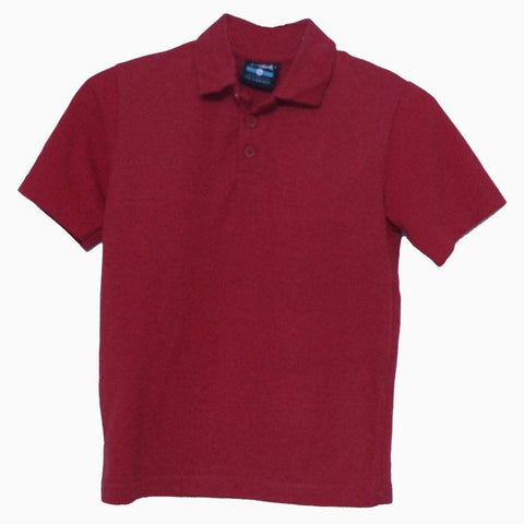 St mark Red boys Polo