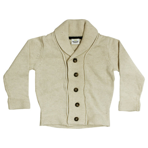 TAPE A LOEIL Bomber Style Unisex Imported Cotton Beige Sweater