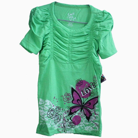 Liquis Gald girl Butterfly Blouse