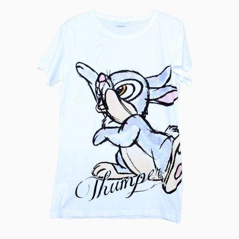 Disney thumper rabbit print girls t-shirt
