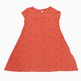 Tex basic Girls All over Hearts Coral Girls Dress