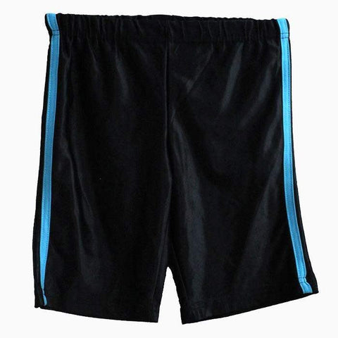 Children Black Shorts with blue Strips