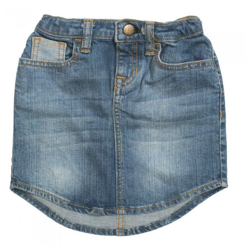 BABY GAP Light Blue Contrast Pocket Denim Girls Skirt