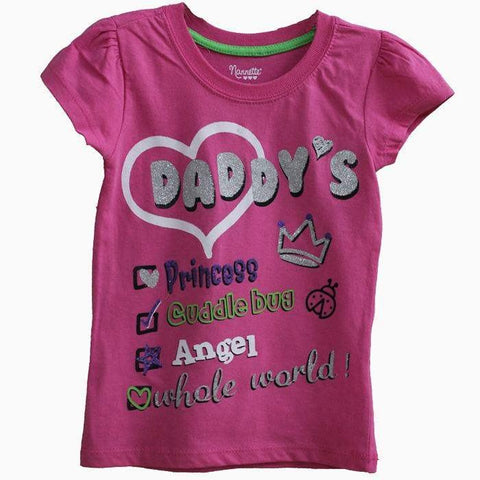 Daddy Princess hot Pink T-shirt
