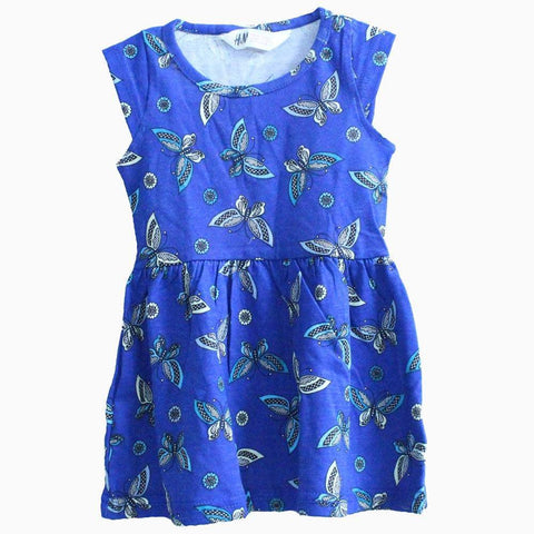 HNM butterfly blue Dress
