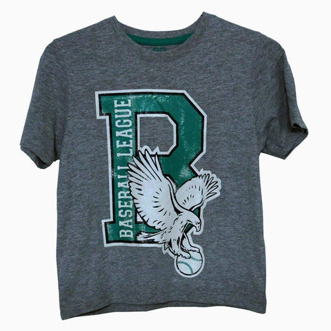 Baseball League grey boys T-shirt