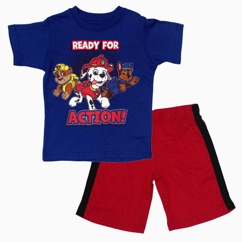 PAW Ready for Action Blue and Red 2 piece Set