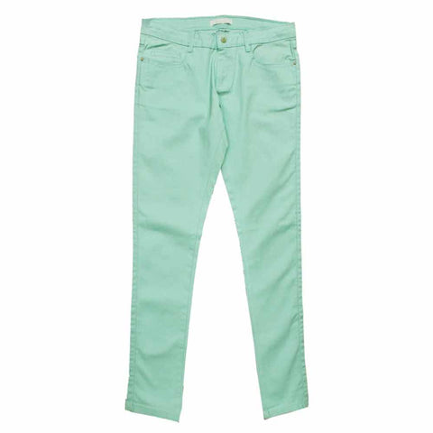 MAYORAL Light Green Glitter High fashion Girls Jeans