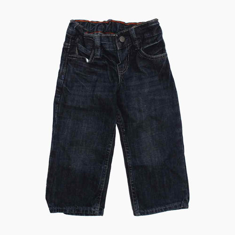 BABY GAP Elastic Waist Boys Dark Blue Jeans