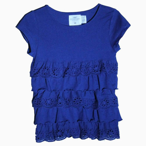 HNM blue frill dress