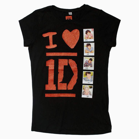 I love 1D Black Girls Tshirt
