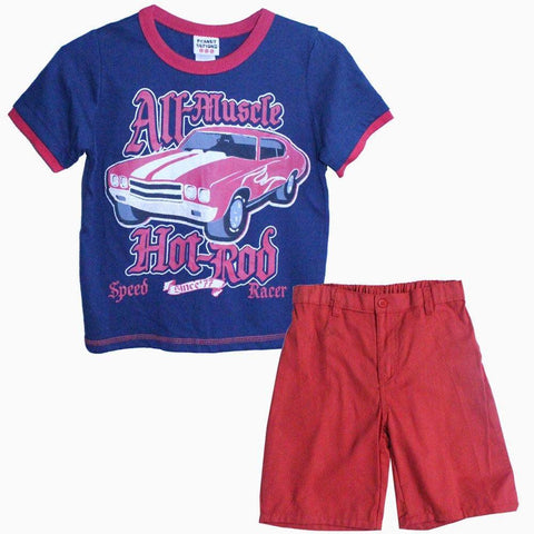 Hot rod boys 2 piece set