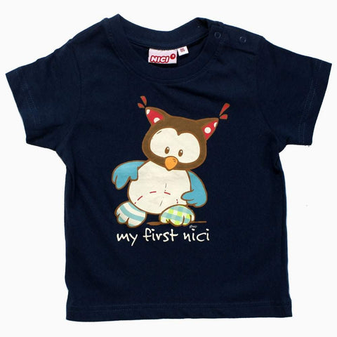 My First NICI navy Blue Boys Tshirt