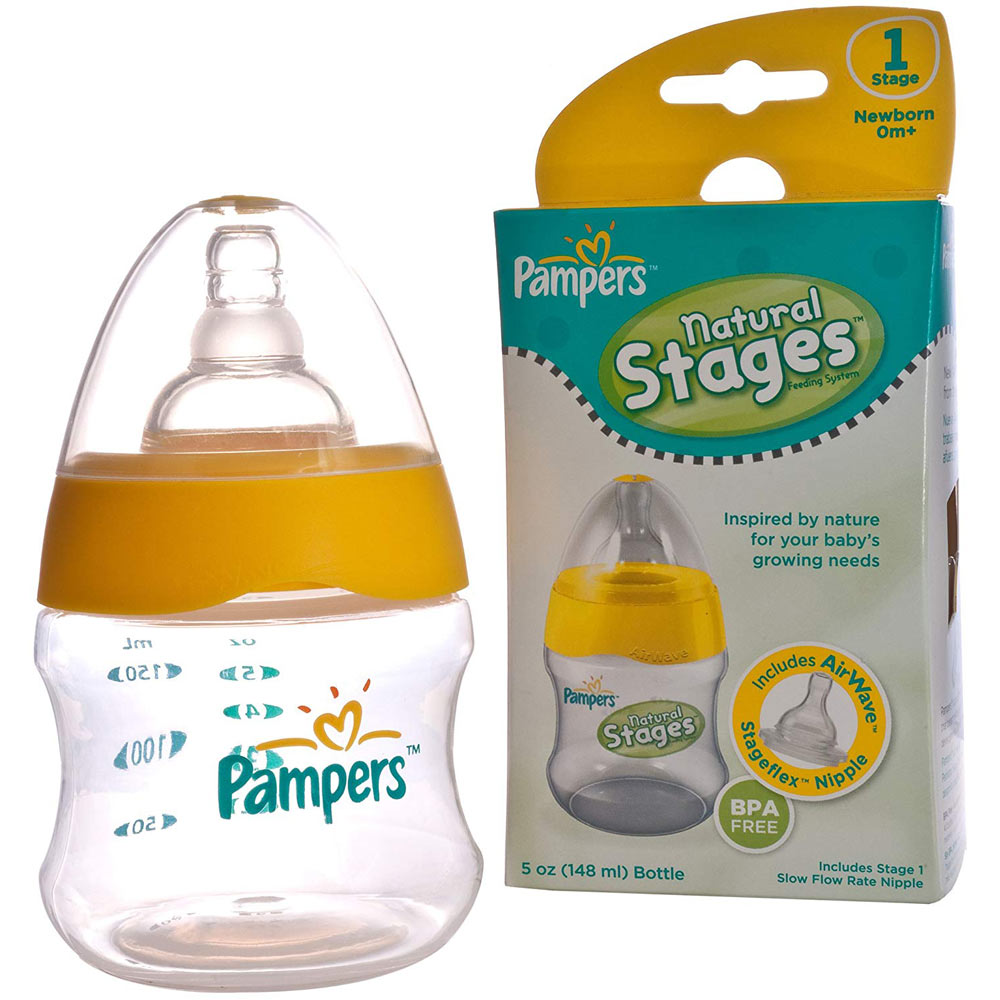 Pampers Airwave Venting System, Stage 1, 5 Ounces, Clear, Single Pack
