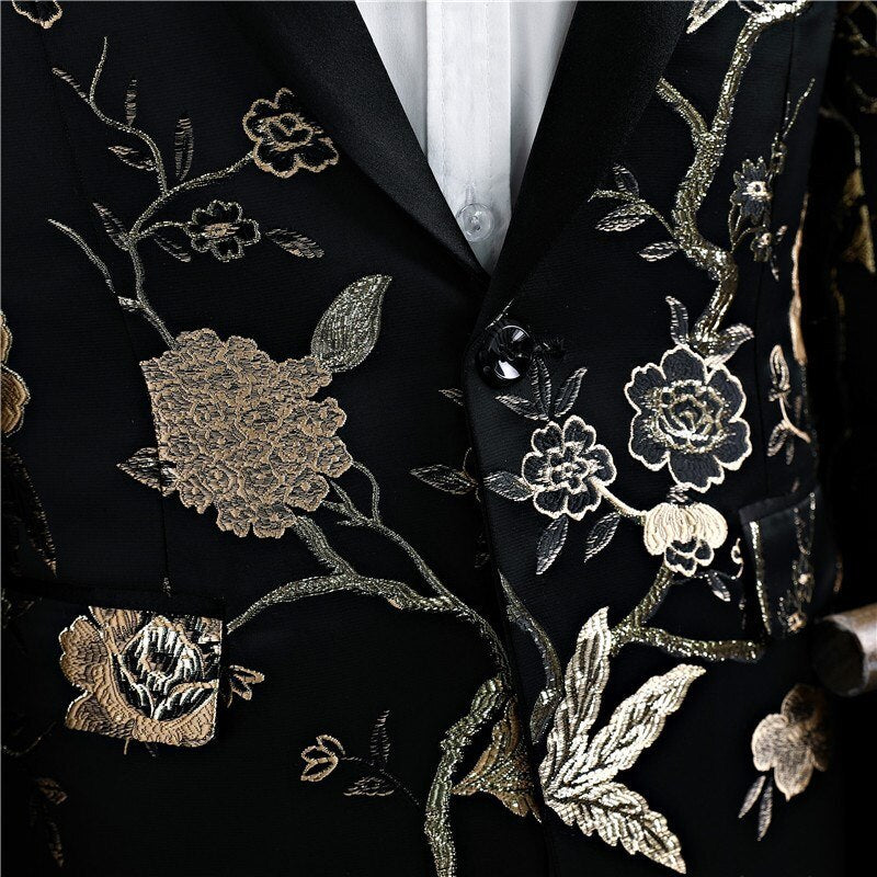 Golden Flower Suit