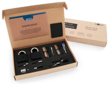 Load image into Gallery viewer, practice lock set by curious smith packaging