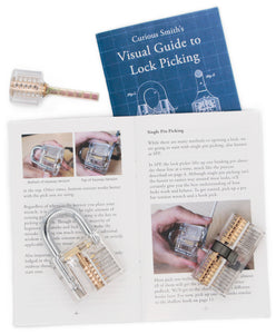 practice locks with visual guide to lock picking