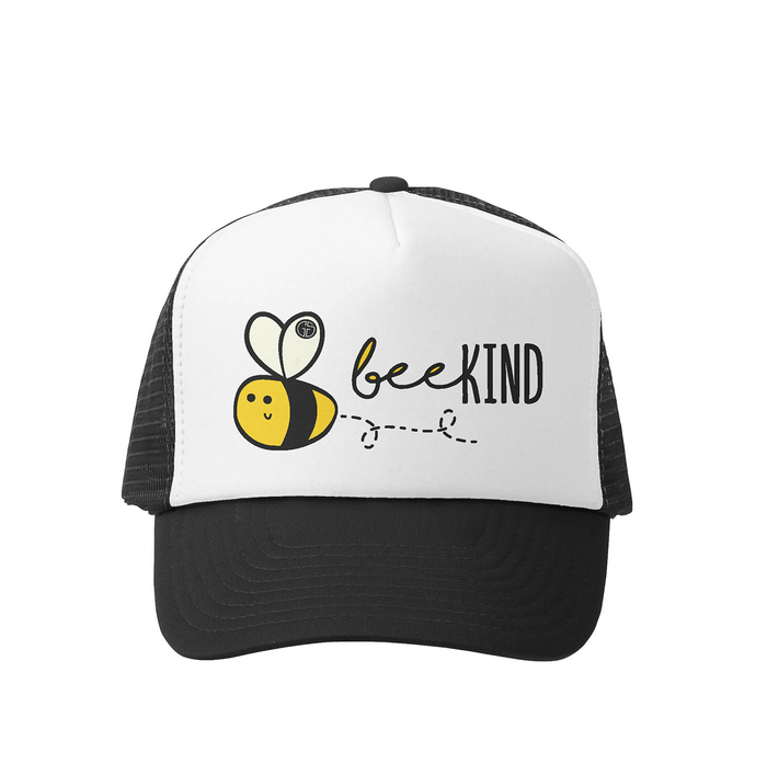 Bee Kind Trucker Hat- Grom Squad