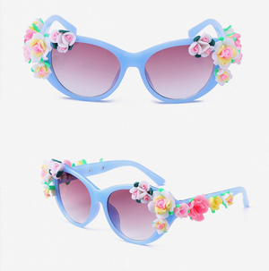 Kids Sunglasses Flower Blossom 4 Colors