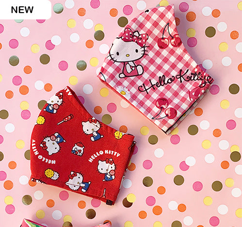 Hello Kitty Face Masks All Sizes