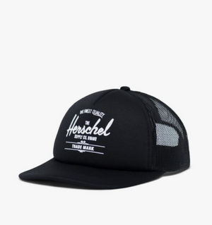 Whaler Cap Mesh Soft Brim - Black - Herschel Supply