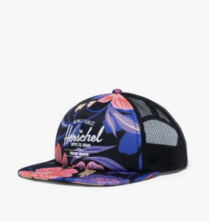 Whaler Cap Mesh Soft Brim - Night Floral - Herschel Supply