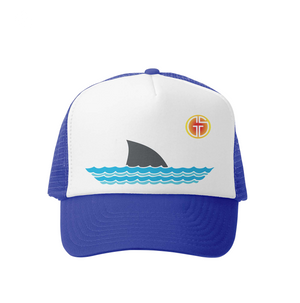 Shark Trucker Hat- Grom Squad