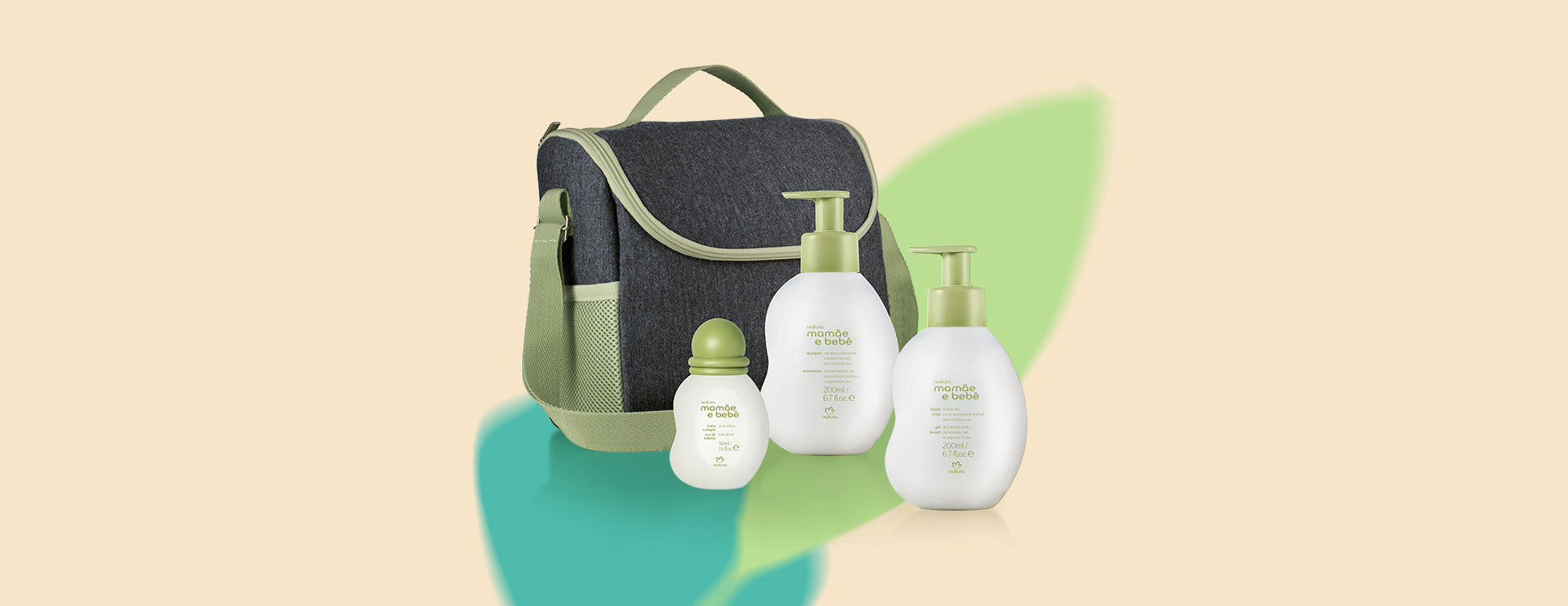 natura mamae e bebe thermal baby bag
