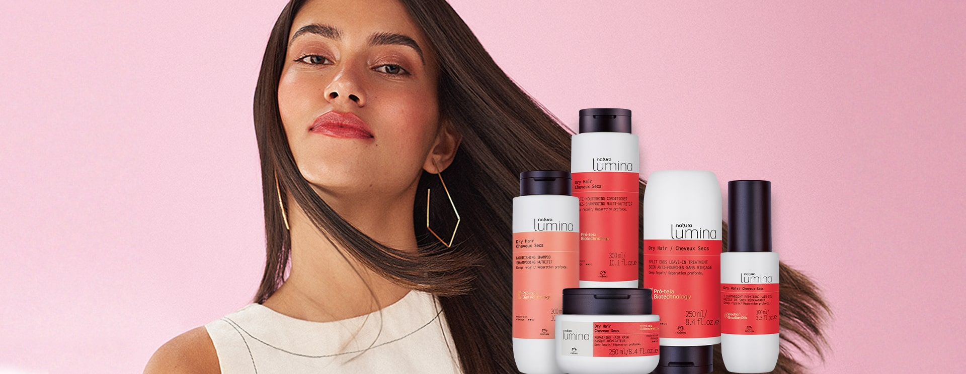 Natura Lumina Dry Hair: The Treatment System That Leaves Your Hair Healthy
