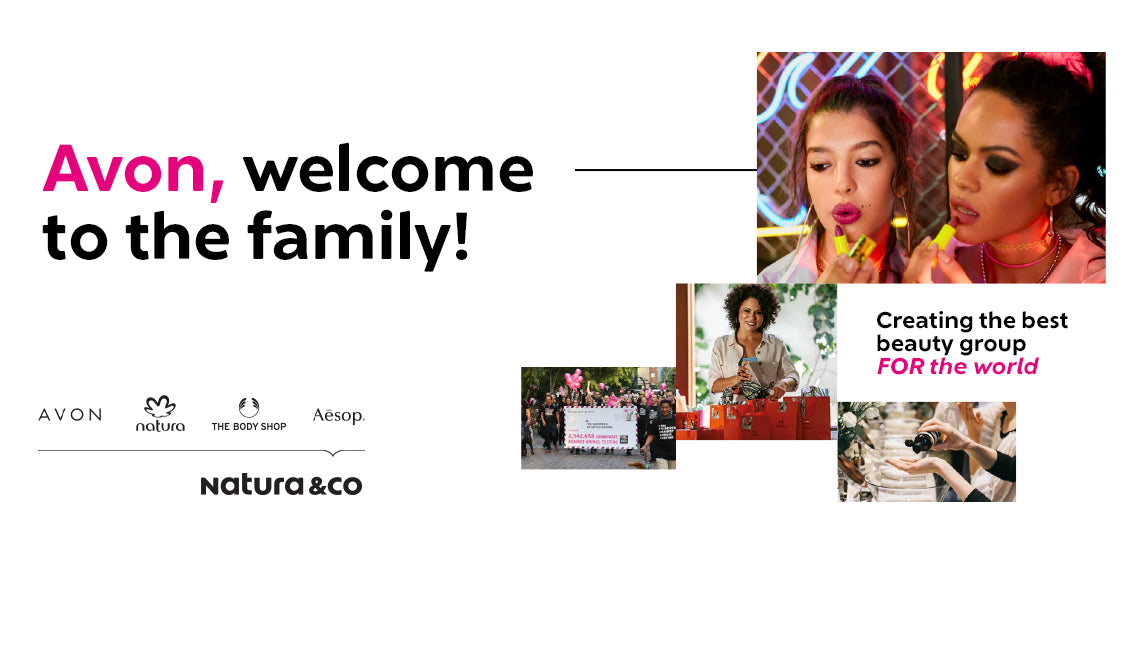 Natura &Co to Close Acquisition of Avon, Creating World's Fourth Largest Pure-Play Beauty Group