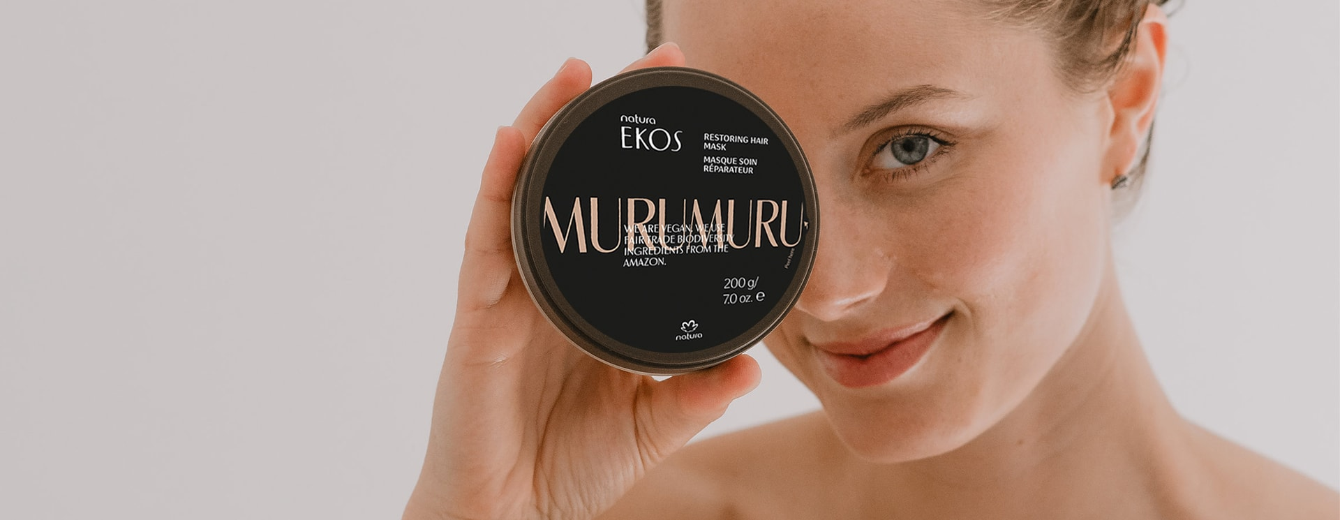 Murumuru hair mask