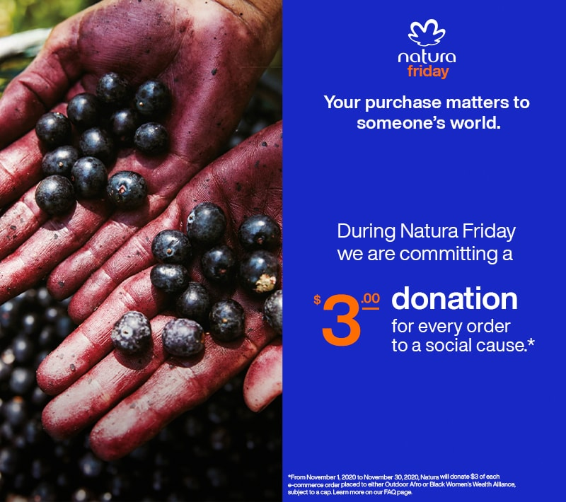 we invite you to join Natura Friday