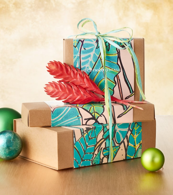 Let us do the wrapping. Free gift wrapping with every purchase.