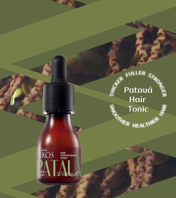 New Patauá Hair Tonic - one of nature's greatest secrets for stronger, fuller hair.