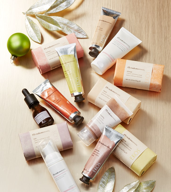 Stocking-size beauty essentials. Perfect to gift someone you're  grateful for.