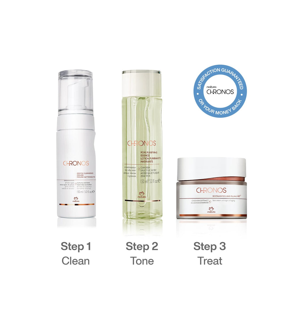Each Age, One Routine - Ages 60+, Combination/Oily Skin_mobile