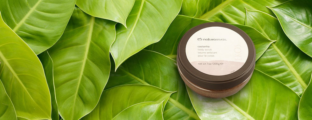 Castanha Body Scrub - 7oz / 200g