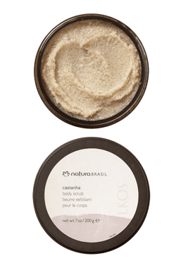 Castanha Body Scrub_mobile - 7oz / 200g