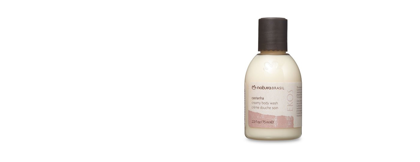 Castanha Creamy Body Wash - 2.5fl.oz / 75ml