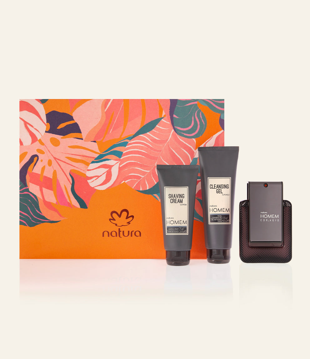 Homem Cor.agio Fragrance and Facial Set_mobile