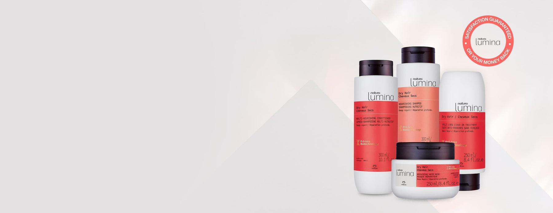 Lumina dry hair complete care