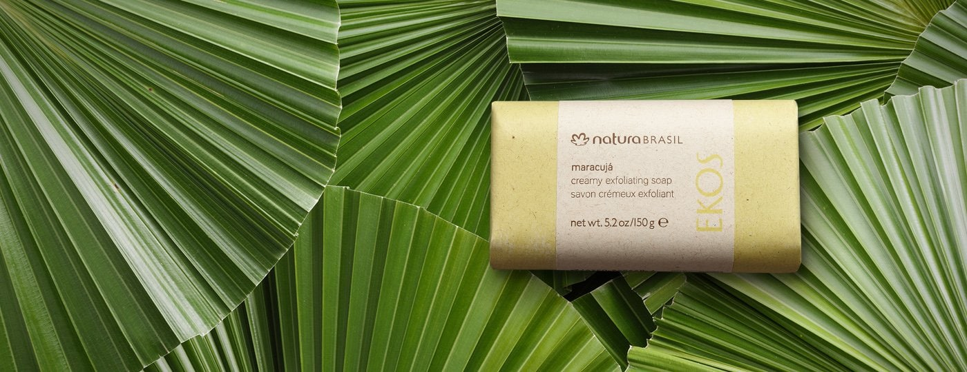 Maracuja Creamy Exfoliating Soap Bar_150gr