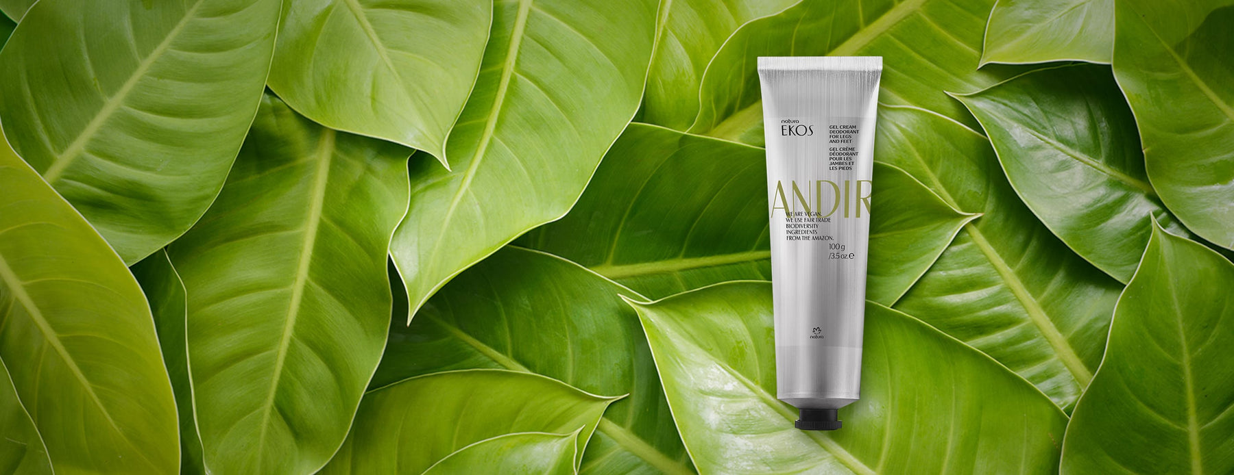 Andiroba Deodorant Foot and Foot Cream Gel